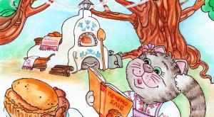 Казка про Котиху, яка у сушарці хліб пекла фото №1
