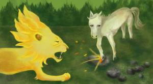 Лев і вовк