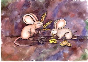 Хатня миша і лісова миша  фото №1
