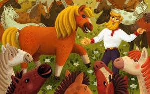 Конь фото №1