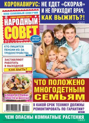Народный совет №47/2020 фото №1