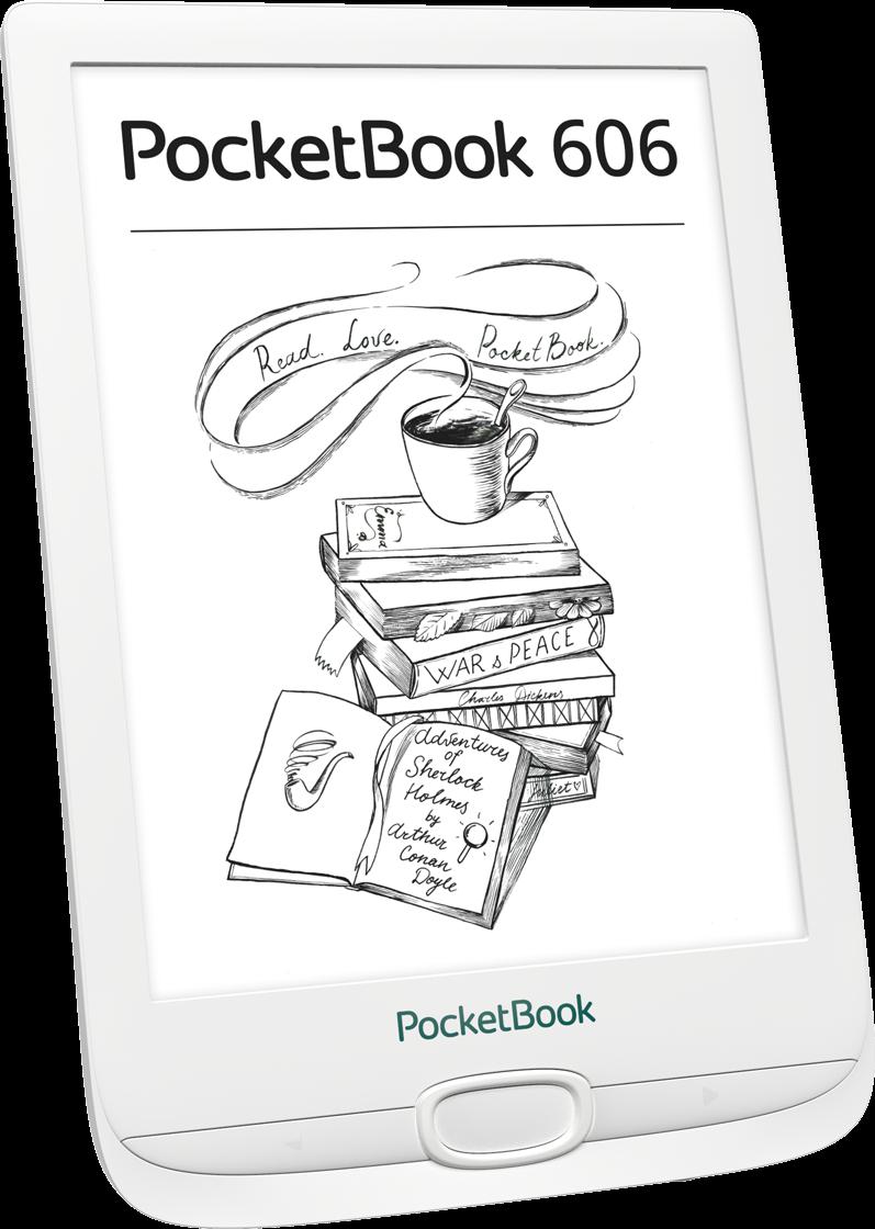 PocketBook 606 White фото 2