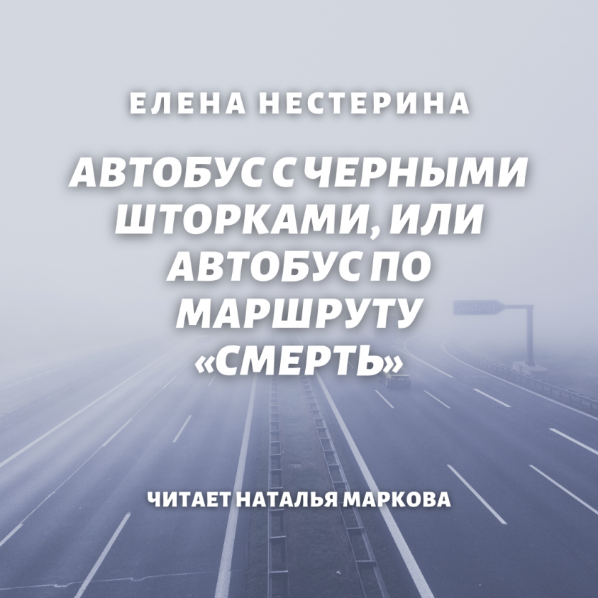 Автобус с черными шторками, или Автобус по маршруту «Смерть» фото №1