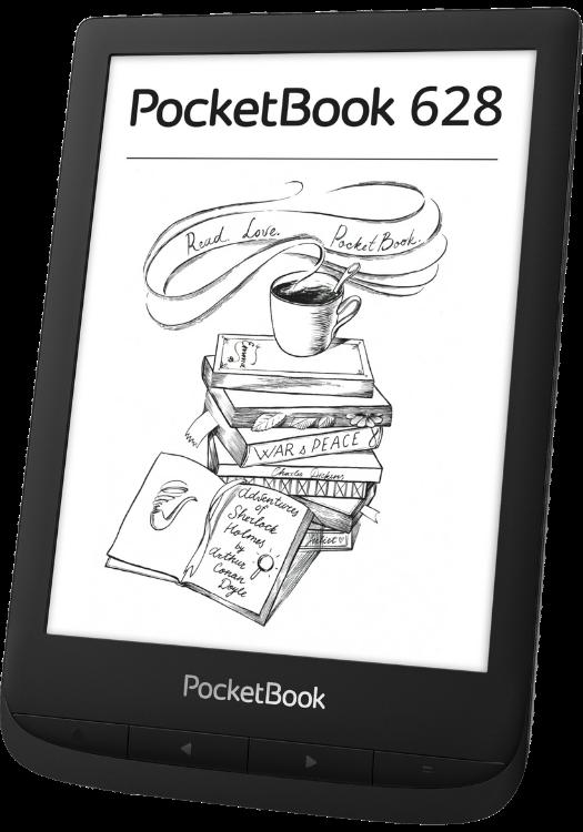 PocketBook 628 Ink Black фото 2